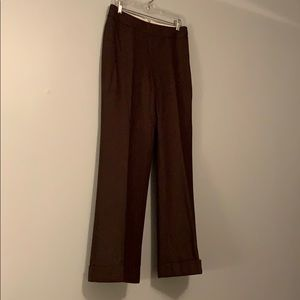 Pants - Brown wool pants